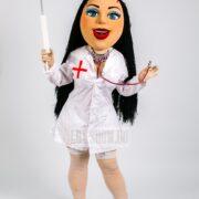 ростовая кукла медсестра