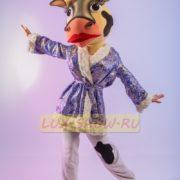 Ростовая кукла корова стриптизерша