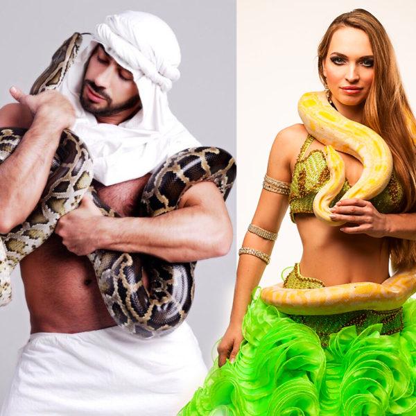 Танец со змей