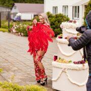 танцовщица из торта