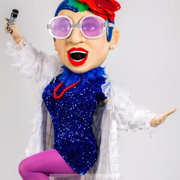 ростовая кукла Верка Сердючка